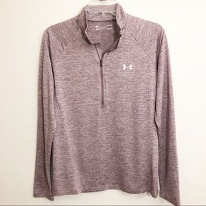 Under Armour | Heathered Purple Pullover